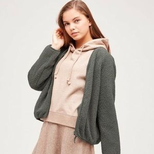 Brand New- Uniqlo Pile-lines Fleeced Jacket